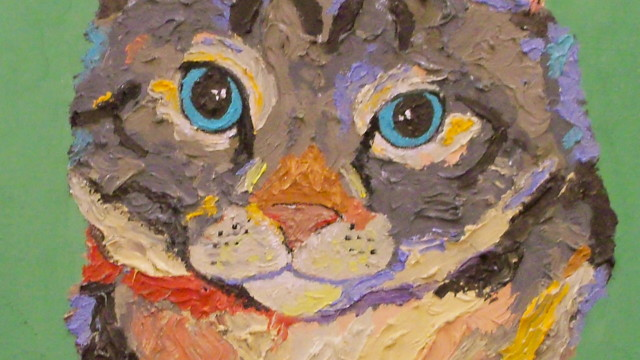 Pet Portraits in Paint